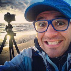 Wschód słońca vs #selfie