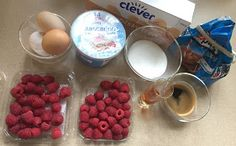 BACKEN für Anfänger und Neulinge mit außergewöhnlichen Lehrlingen ! : Eigenkreation: HIMBEER-TIRAMISU Food, Baking For Beginners, Kochen, Raspberry Tiramisu, Raspberries, Cooking Recipes, Simple, Meal, Essen