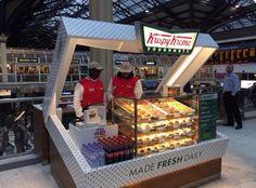 Now that's a doughnut kiosk!! #krispykreme #dunkindonuts #donuts #doughnuts #mall #kiosk #retail #rmu #impulse #impulsepurchase #storedesign #box #donutbox #impact #creative #3peconsulting #store #popup