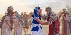 José y su padre, Jacob, se vuelven a encontrar