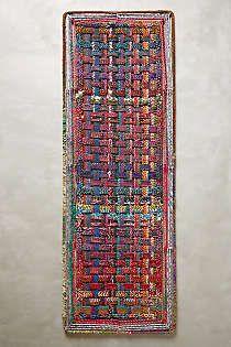 Woven Doormat #anthrofave #outdoordecor