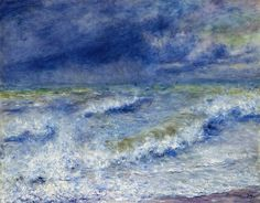 dappledwithshadow:   The Wave, Pierre-Auguste...