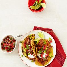 Chipotle Beef Tacos with Pico de Gallo