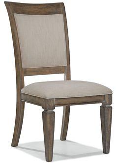 Brownstone Village Upholstered Back Side Chair Set of 2