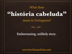 Learn Portuguese with BrazilianPodClass