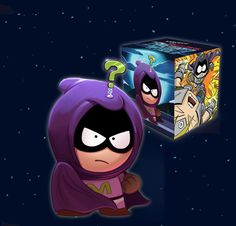 Mysterion - South Park: The Fractured But Whole Medium Figure - Pre-order