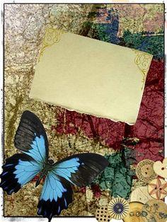 Butterfly, Buttons, Design