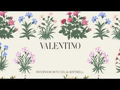 VALENTINO FALL 2015 ADVERTISING CAMPAIGN - YouTube