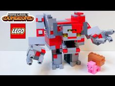 "LEGO Minecraft Dungeons ""Redstone Monster"" / How to build - YouTube Minecraft Redstone, Lego Minecraft, Minecraft Crafts, Lego Moc, Best Luxury Cars, Make It Yourself, Building, Youtube, Minecraft Stuff"
