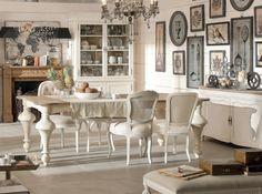 Estilo vintage em uma sala de estar cheia de charme.