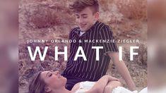 Johnny Orlando + Mackenzie Ziegler - What If (Lyric Video)  #JENZIE...