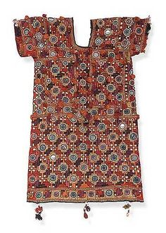"""""""Kanchali"""" is a woman's blouse possibly from the Harijan people in India,"""