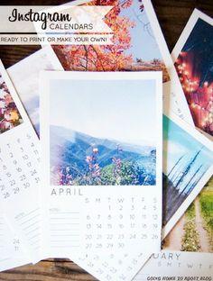 12 Free Printable Calendars for 2014
