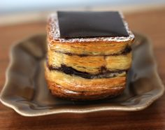 Layered Chocolate Croissant: 17 Tasty Recipes to Upgrade Croissants via Brit + Co.