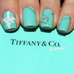 Tiffany nails fashion colorful nails girl nail polish stylish tiffany colorful nails nail art nail trends tiffany and company