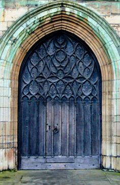 ~Door St. Botolph's Church, Boston, Massachusetts