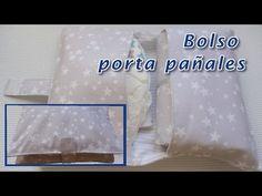 Como hacer un bolso porta pañales y toallitas. Diaper and wipes Bag tutorial - YouTube