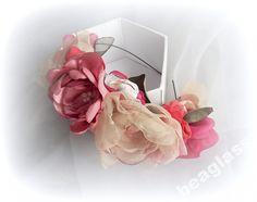 Opaska do włosów. Ślub. Sesja. Kolorowe kwiaty
