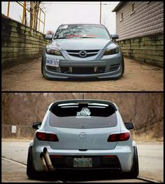 Is this Mazda too much? The exhaust definitely is over kill