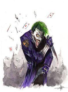 Joker by Anthony Darr