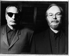 Donald Fagen and Walter Becker of Steely Dan. As of 2015, this fotograph is rather current.