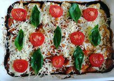 Fitt, Cukor, Caprese Salad, Mozzarella, Vegetable Pizza, Good Food, Vegetables, Vegetable Recipes, Healthy Food