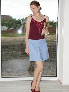 Модели, сшитые по выкройке Юбка расклешенного силуэта Skirts, Skirt, Skirt Outfits, Dresses