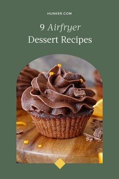 From cakes to cookies and even cupcakes, the following air fryer dessert recipes are proof that this appliance truly can do it all. #hunkerhome #airfryer #airfryerrecipes #airfryerdessertrecipes Air Fry Recipes, Dessert Recipes, Desserts, Tasty Dishes, Fries, Health Fitness, Canning, Breakfast, Cake