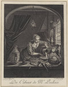 The Kitchen Maid, ca. 1780, Charles Macret (French), after Gerrit Dou (Dutch), Engraving (17.3.1771)