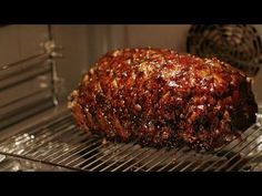 Slow-cooked black treacle ham recipe - Simply Nigella: Christmas Special - BBC Two - YouTube