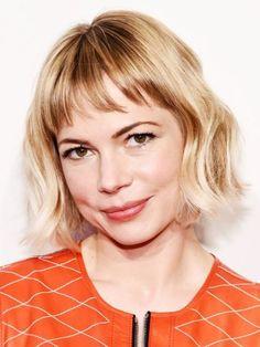 Hair accessory: wavy hair short hair hair hairstyles blonde hair actress michelle williams