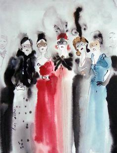 "Bridget Davies: ""Masquerade Ball""."