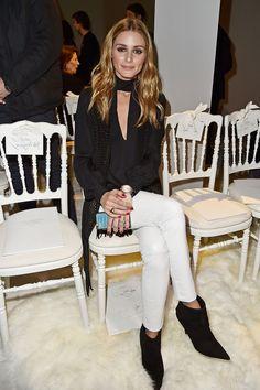 Celebrities at fashion week aw16 - London, Paris, Milan & New York (Glamour.com UK) Glamour Magazine UK waysify