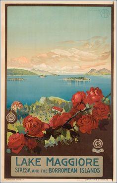 Lake-Maggiore - Mario Borgoni 1925