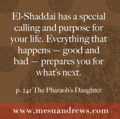 Book Review of The Pharaoh's Daughter by Mesu Andrews - made by Mommynificent