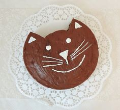 Cat CutUp Cake Recipe Round cakes Cake and Easy