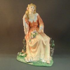 Ophelia   LE 5000 Shakepearean Ladies Royal Doulton Figurine