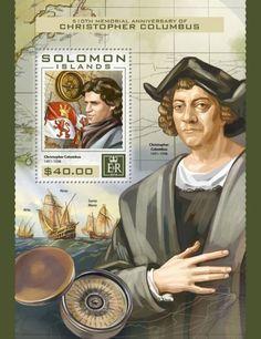 SLM16410b 510th memorial anniversary of Cristopher Columbus (Christopher Columbus (1451–1506))