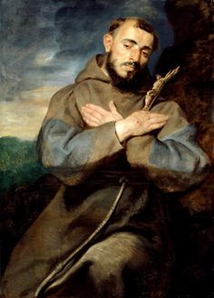 St, Francis of Assisi, by Peter Paul Rubens (Flemish, Peter Paul Rubens, Catholic Art, Catholic Saints, Religious Art, Francis Of Assisi, St Francis, Pedro Pablo Rubens, Baroque Art, Caravaggio