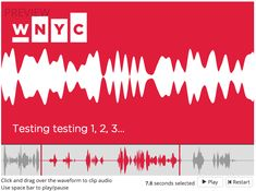 The Future of Social Audio is Here, Presenting the Audiogram Generator ¶ by Delaney Simmons, Director of Social Media at WNYC… Teaching Time, Digital Audio, Cool Tech, Diving, Turning, Presents, Journalism, Medium, Programming