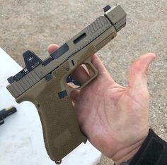 Save those thumbs Tactical Equipment, Tactical Gear, Glock Mods, Mens Toys, Military Guns, Cool Guns, Assault Rifle, Weapons Guns, Firearms