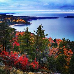 On top of Sugarloaf Mountain, Marquette Michigan, Upper Peninsula, Lake Superior Michigan Vacations, Michigan Travel, State Of Michigan, Northern Michigan, Lake Michigan, Marquette Michigan, The Places Youll Go, Places To See, Upper Peninsula