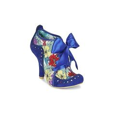 Irregular Choice Abigail's Third Party Low Boots ($165) ❤ liked on Polyvore featuring shoes, boots, ankle booties, low boots and women