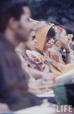 Howard University graduation (1970)