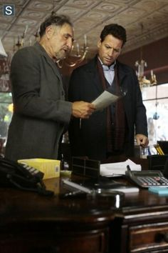 "#Forever 1x02 ""Look Before You Leap"" - Abe and Henry"