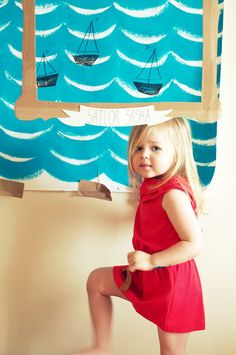 Photo booth idea and sailor themed party Could take photos with guests and send them out with thank you cards