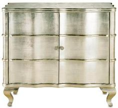 Silver Pearl Sideboard or Bar Cabinet - Free Shipping! $4,150.00 (USD).  Product in photo is from www.wellappointedhouse.com