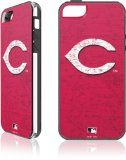 Skinit Cincinnati Reds - Solid Distressed for LeNu Plus Case for Apple iPhone 5 - http://www.redsball.com/cincinnati-reds/skinit-cincinnati-reds-solid-distressed-for-lenu-plus-case-for-apple-iphone-5/