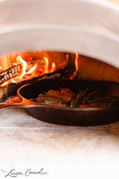 Fire roasted jalapeño poppers {via Large Marge}