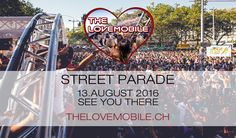 Ticket for The Lovemobile at Street Parade by Tito Torres Ticket, Ab Sofort, Street, Travel, Viajes, Destinations, Traveling, Trips, Walkway